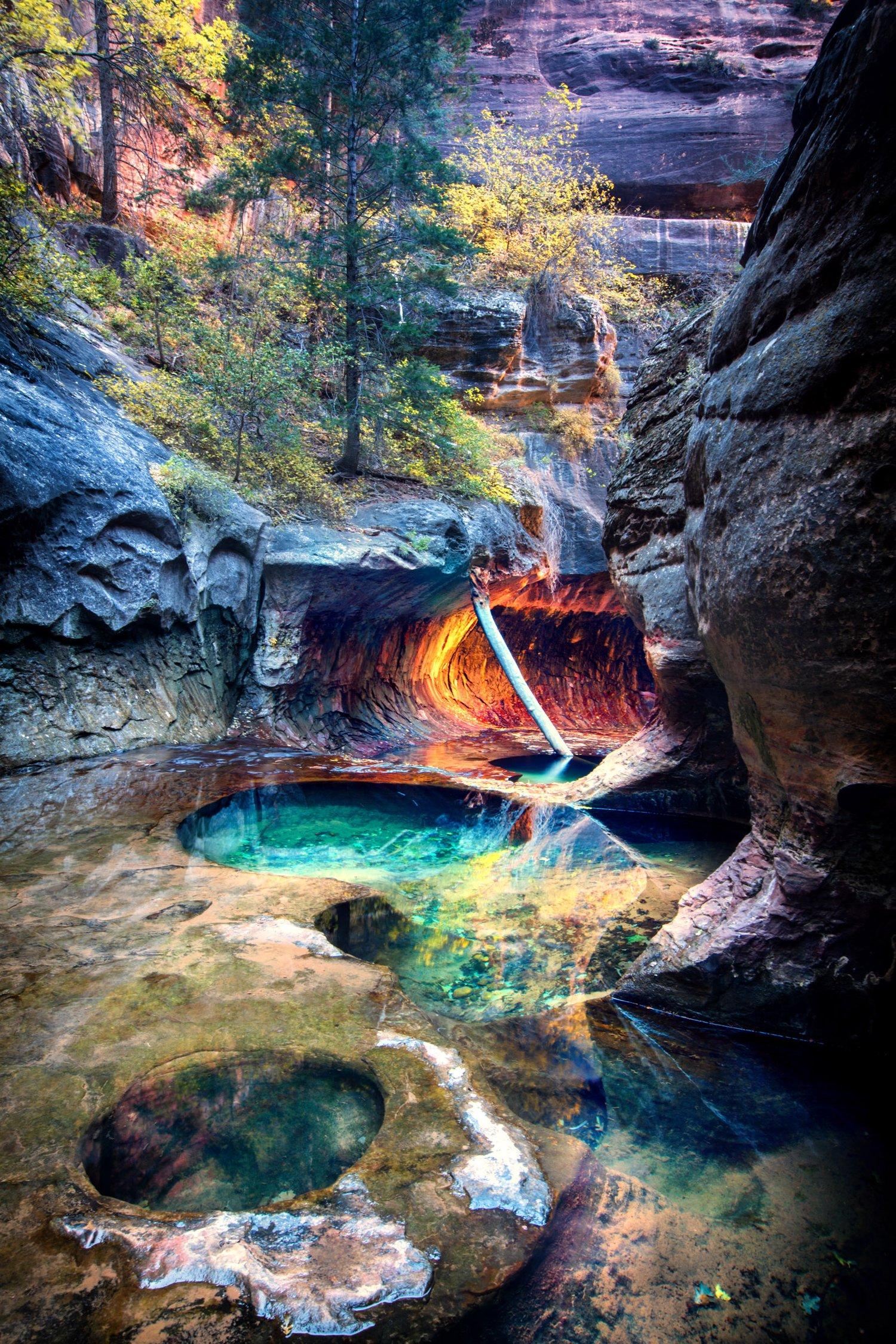 Image of Autumn Pools