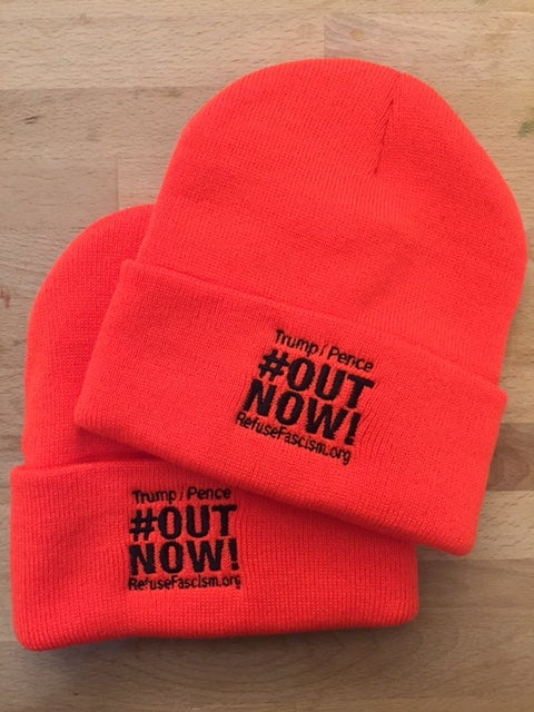 Image of Orange Out Now Beanie
