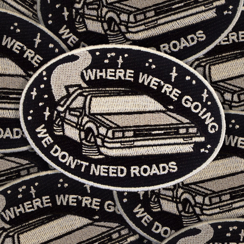 Image of Delorean patch