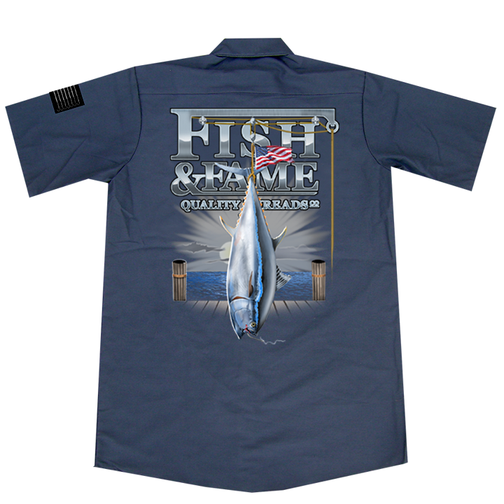 Image of BFT Crane Crew Shirt (gun metal)