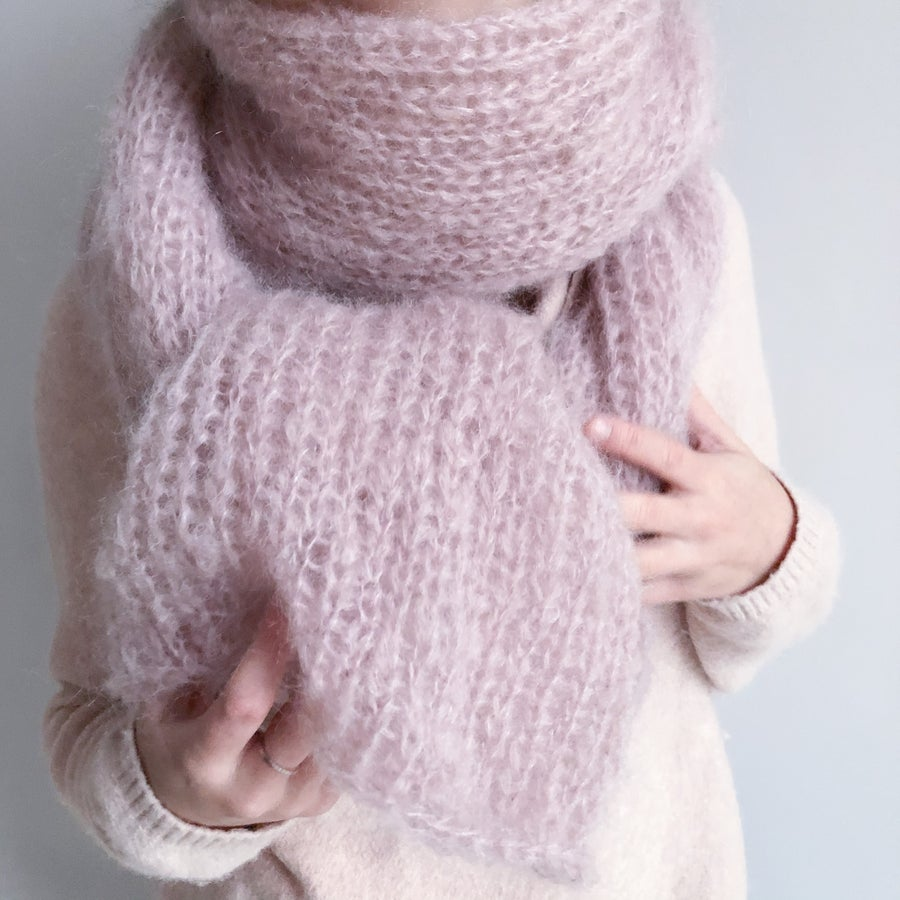 Image of The Molly Scarf - Light pink