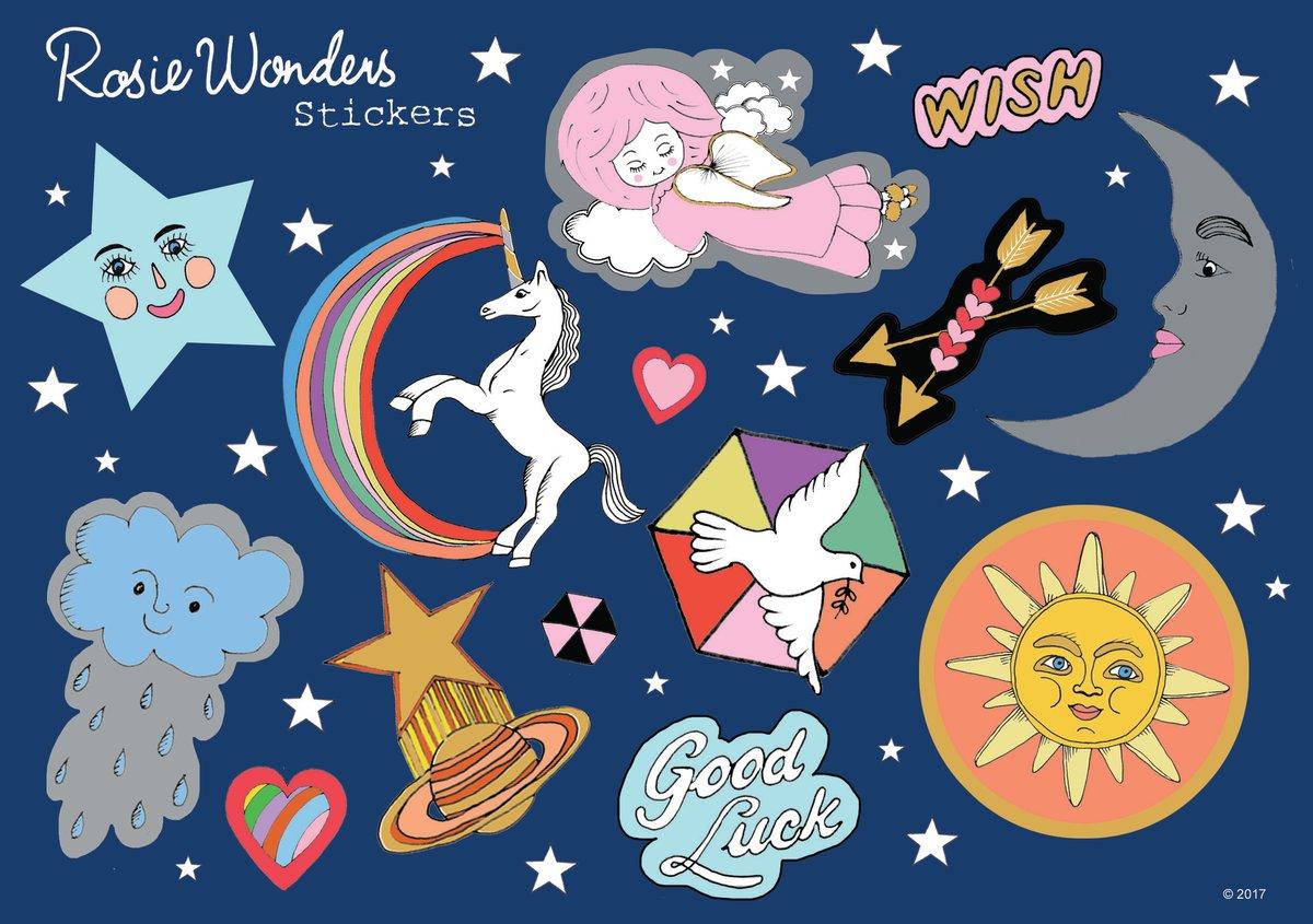 Wish Sticker Sheet
