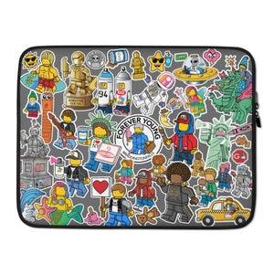 "Image of ""Sticker"" Laptiop Case"