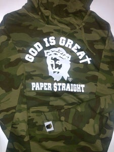 Image of GIGPS SOLDIER OF GOD CAMO HOODIE