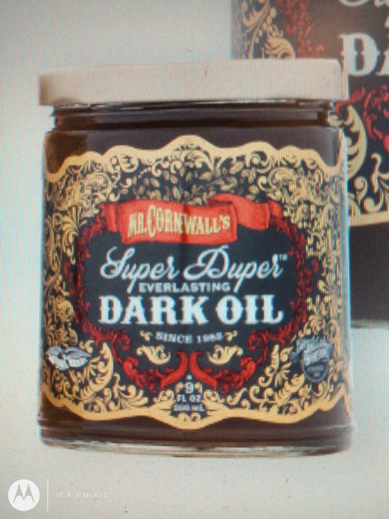 Image of Mr. Cornwall's Super Duper Everlasting Oil DARK