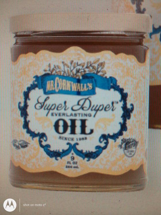 Image of Mr. Cornwall's Super Duper Everlasting Oil