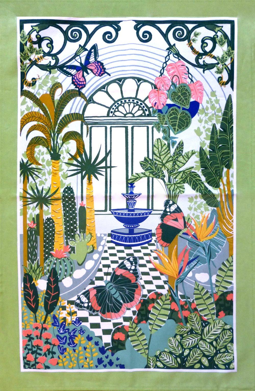 Image of Plant House Tea Towel