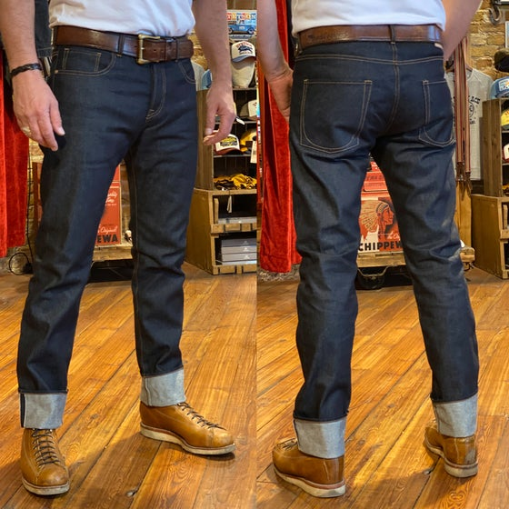 Image of FIT & CRAFT 13.5 oz RAW DENIM PANTS H-1 CLASSIC