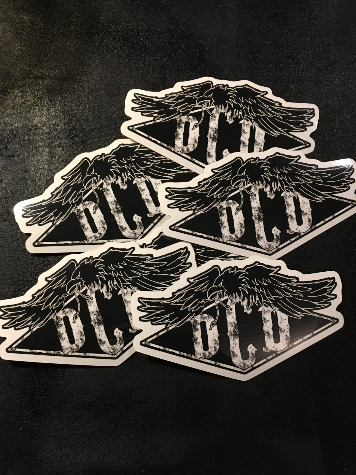 Image of DCD stickers
