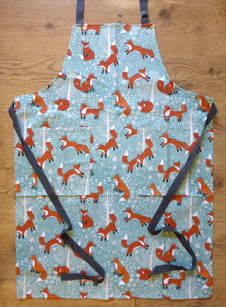 Image of Woodland Foxes Apron