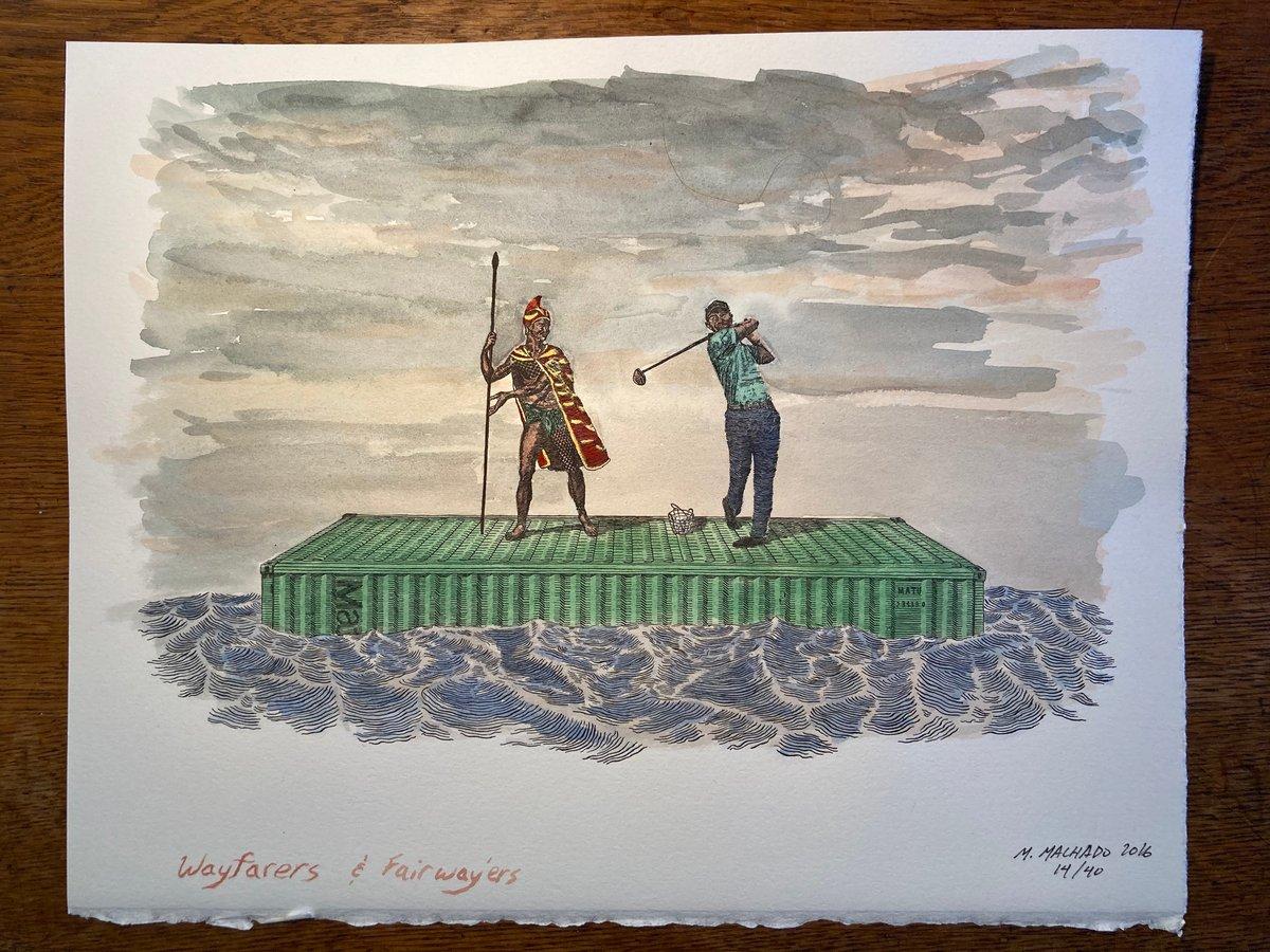 Image of Wayfarers and Fairway'ers (hand tinted)