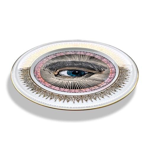Image of Lover's Eye - Engraved - Vintage Fine Bone China - #0717