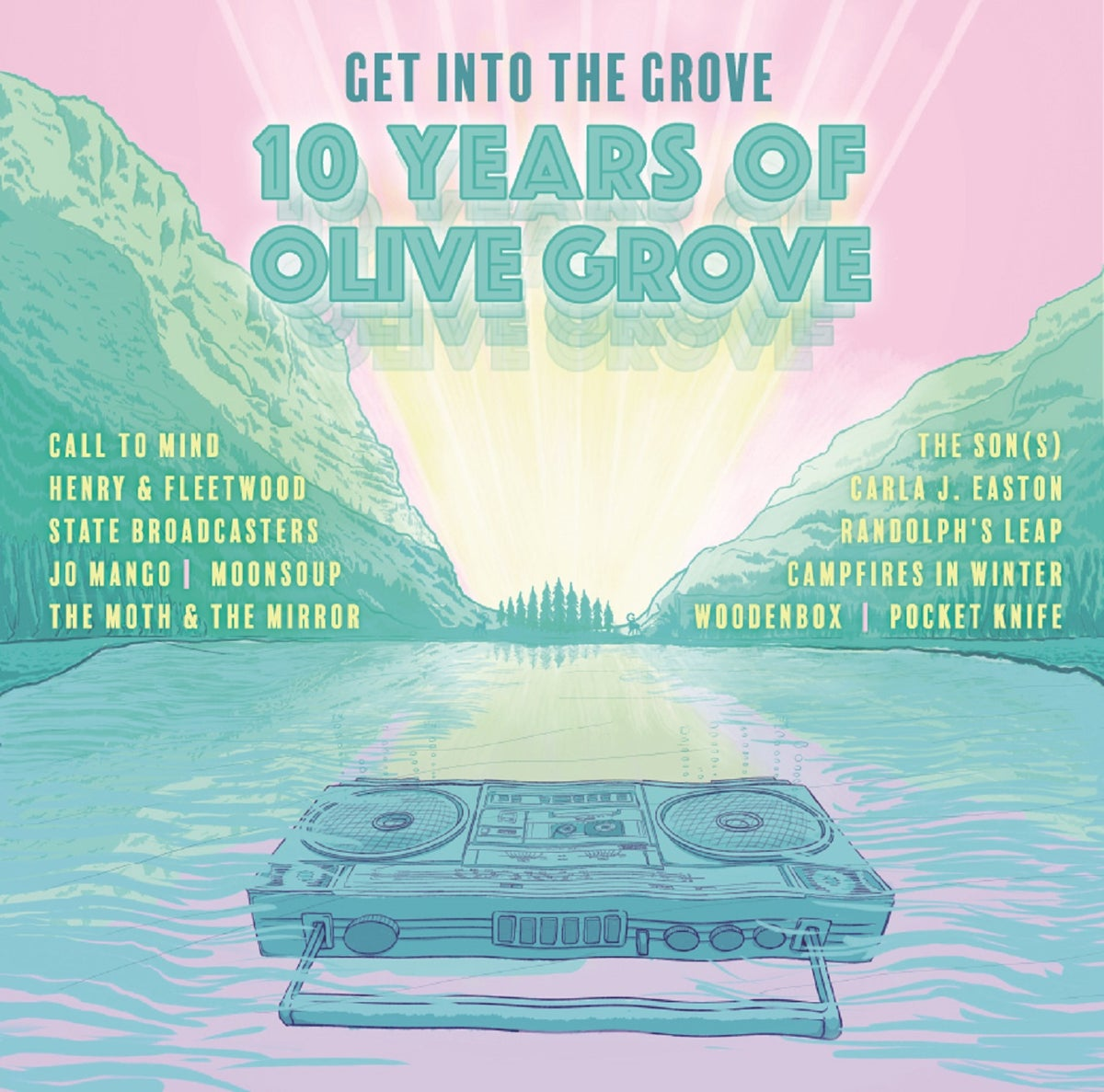 Get Into The Grove: 10 Years of Olive Grove