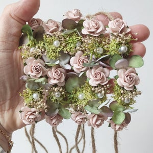 Image of Mini halo blush et verdure