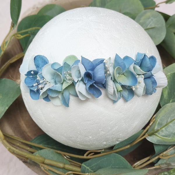 Image of Mini halo bleuté