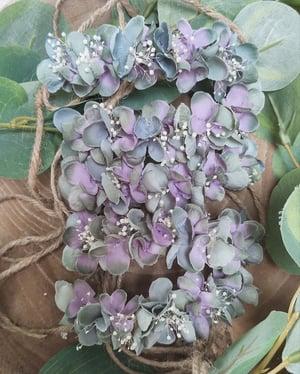 Image of Mini halo vieu vert et violet