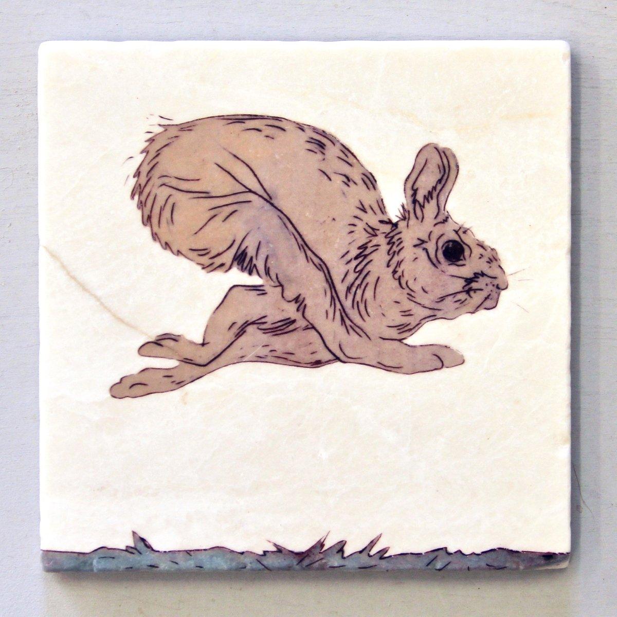 Image of Running Hare Trivet