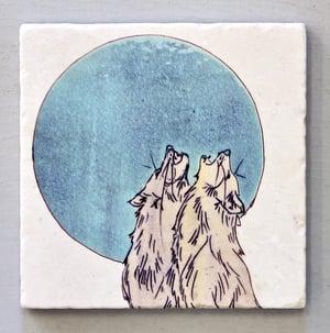 Image of Howling Wolves Trivet
