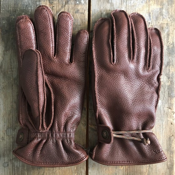 "Image of HESTRA GLOVES ""GRANVIK"" BROWN"