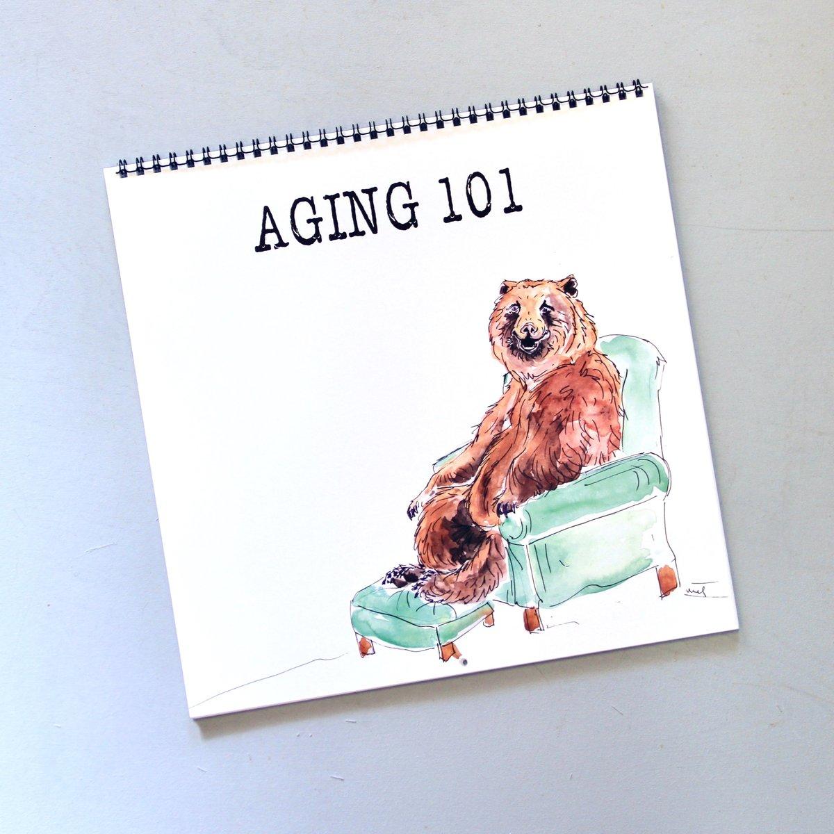 Image of Aging 101 Wall Calendar