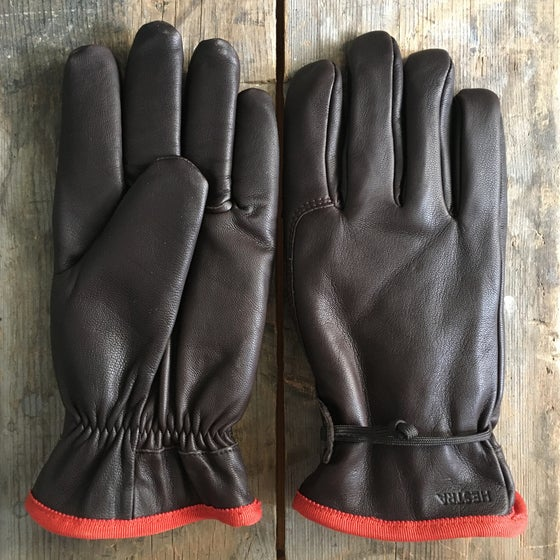 "Image of HESTRA GLOVES ""REIDAR"" ESPRESSO"