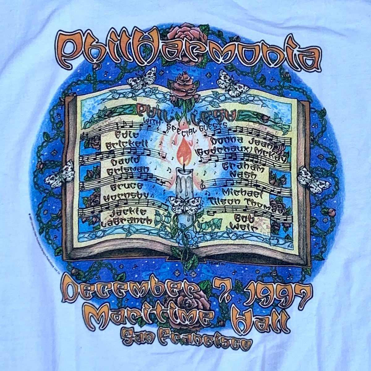 Original Vintage Phil Lesh 1997 / Philharmonia at Maritime Hall!! - X-Large!