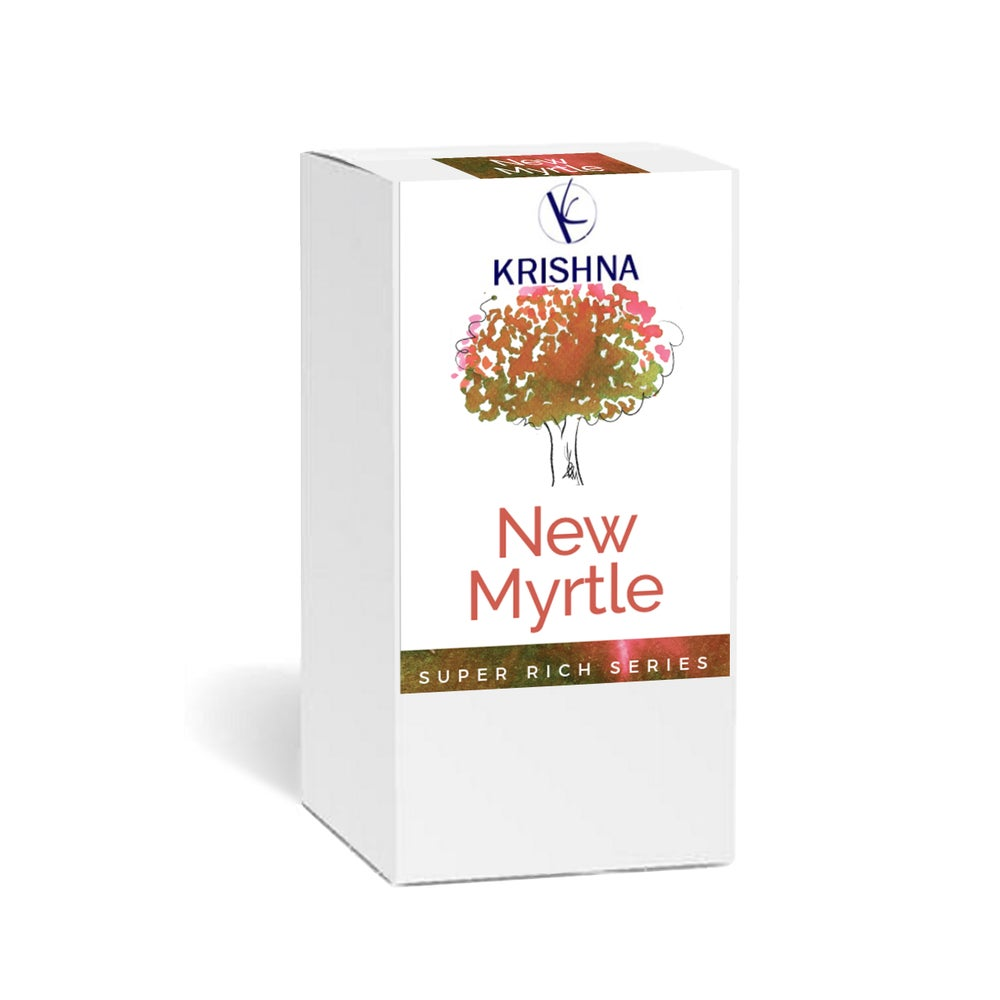 Image of Krishna Inks - Super Rich Series New Myrtle 20ml