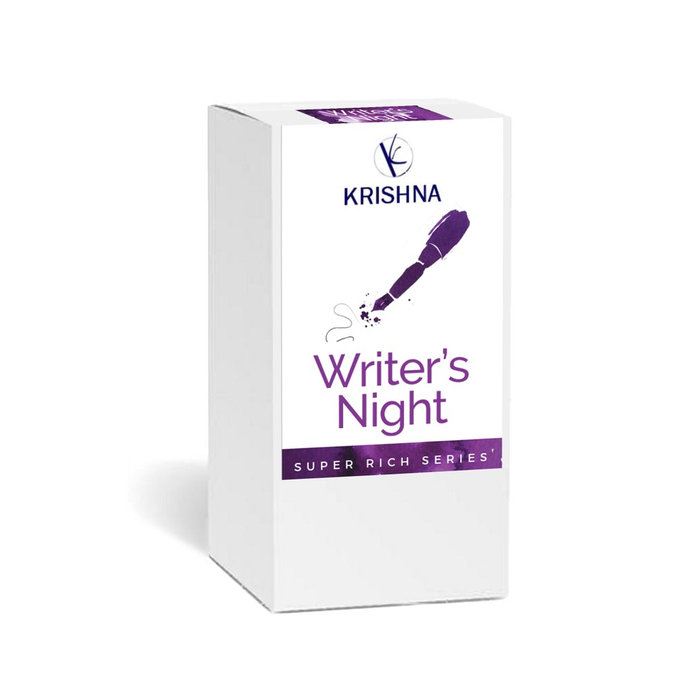 Image of Krishna Inks - Super Rich Series Writer's Night 20ml