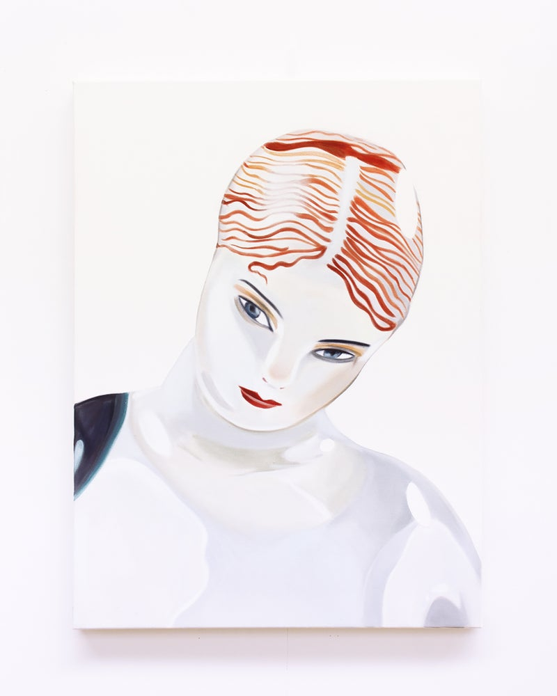 Image of Bryce Anderson - 'Head Study'. Original painting 2020