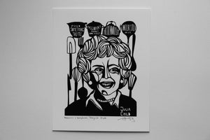Image of Benefit Women's Wisdom Project Print: Julia Child
