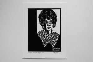 Image of Benefit Women's Wisdom Project Print: Shirley Chisholm