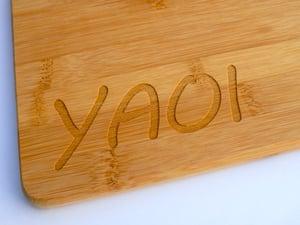 YAOI Paddle-Shaped Cutting Board