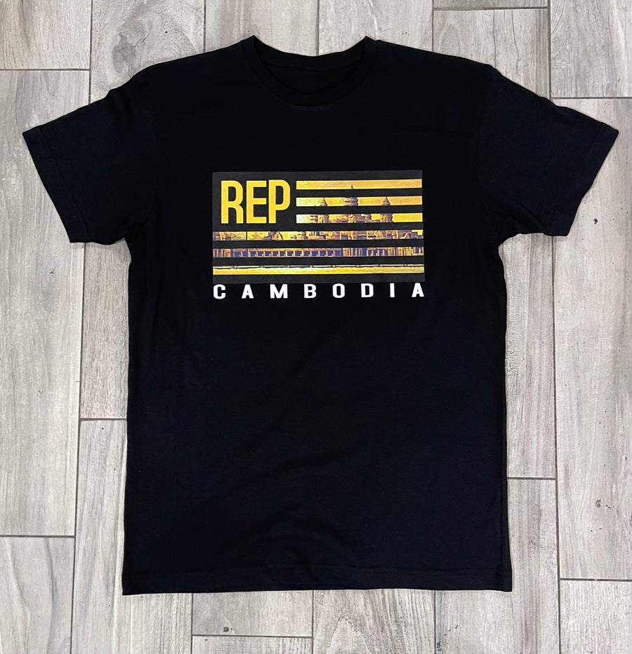 Image of Rep Cambodia Original Flag Tee -