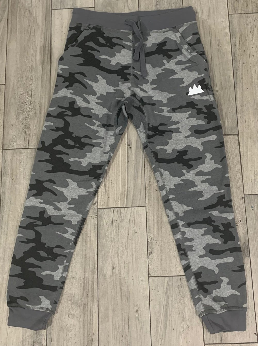 Image of Grey Camo Jogger