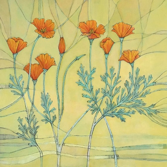 Image of California Poppies by Jenn Rawling