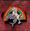 Unicorn Dolphin Enamel Pin