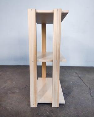 "24"" Modular Shelf for 'The Array System' by Iridium Interiors"