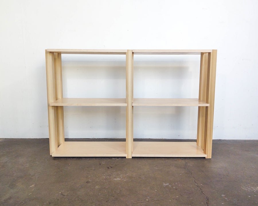 "Image of 48"" Modular Shelf Set 'The Array System' by Iridium Interiors"