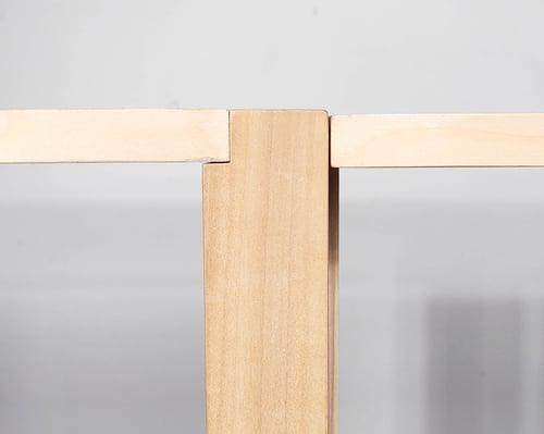 Image of Double L24 Modular Shelf 'The Array System' by Iridium Interiors