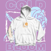 """Frost Thorn"" Hoodie |  Orange & White"