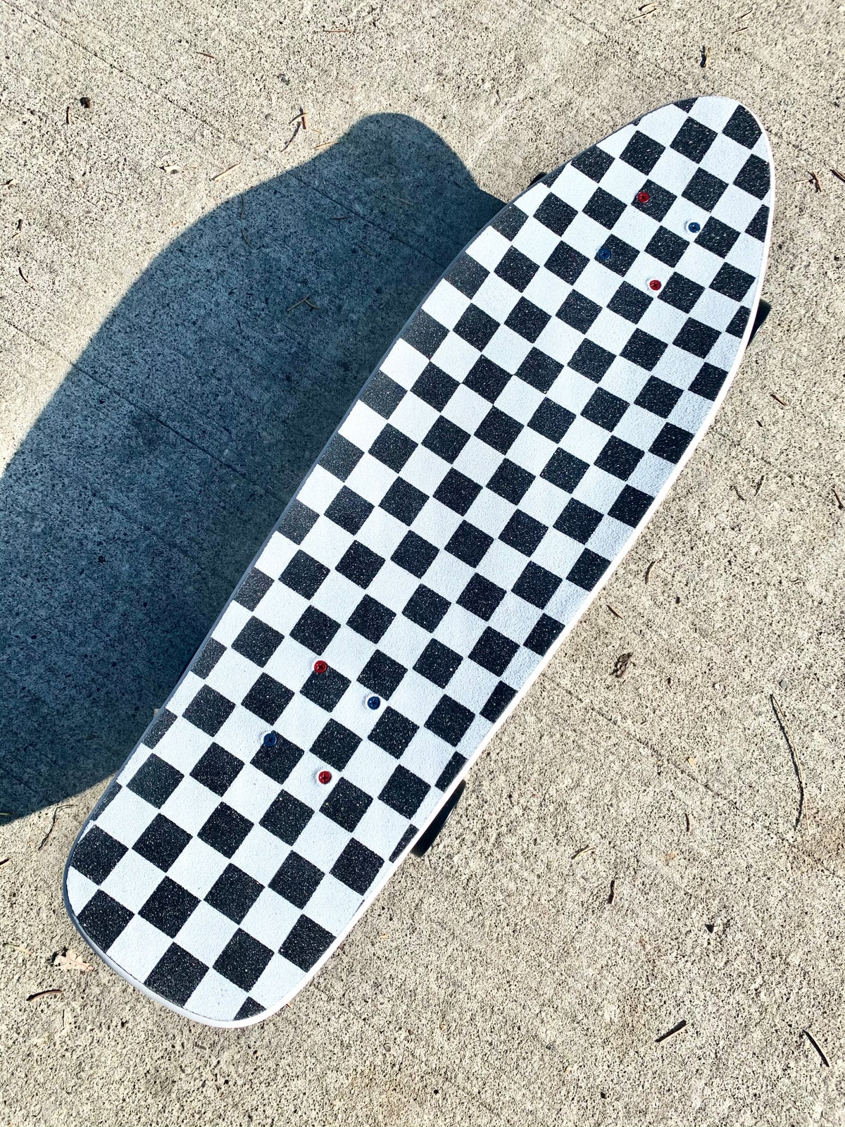 Image of White Old School Cruiser Complete