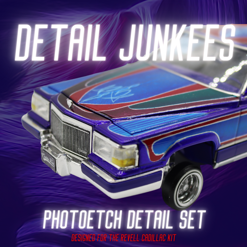 Image of Cadillac Photoetch set for Revell