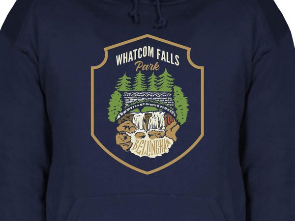 Image of Whatcom Falls Park Hoodie