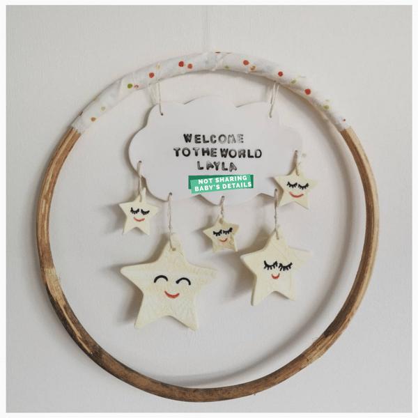Image of Baby Star Hoop