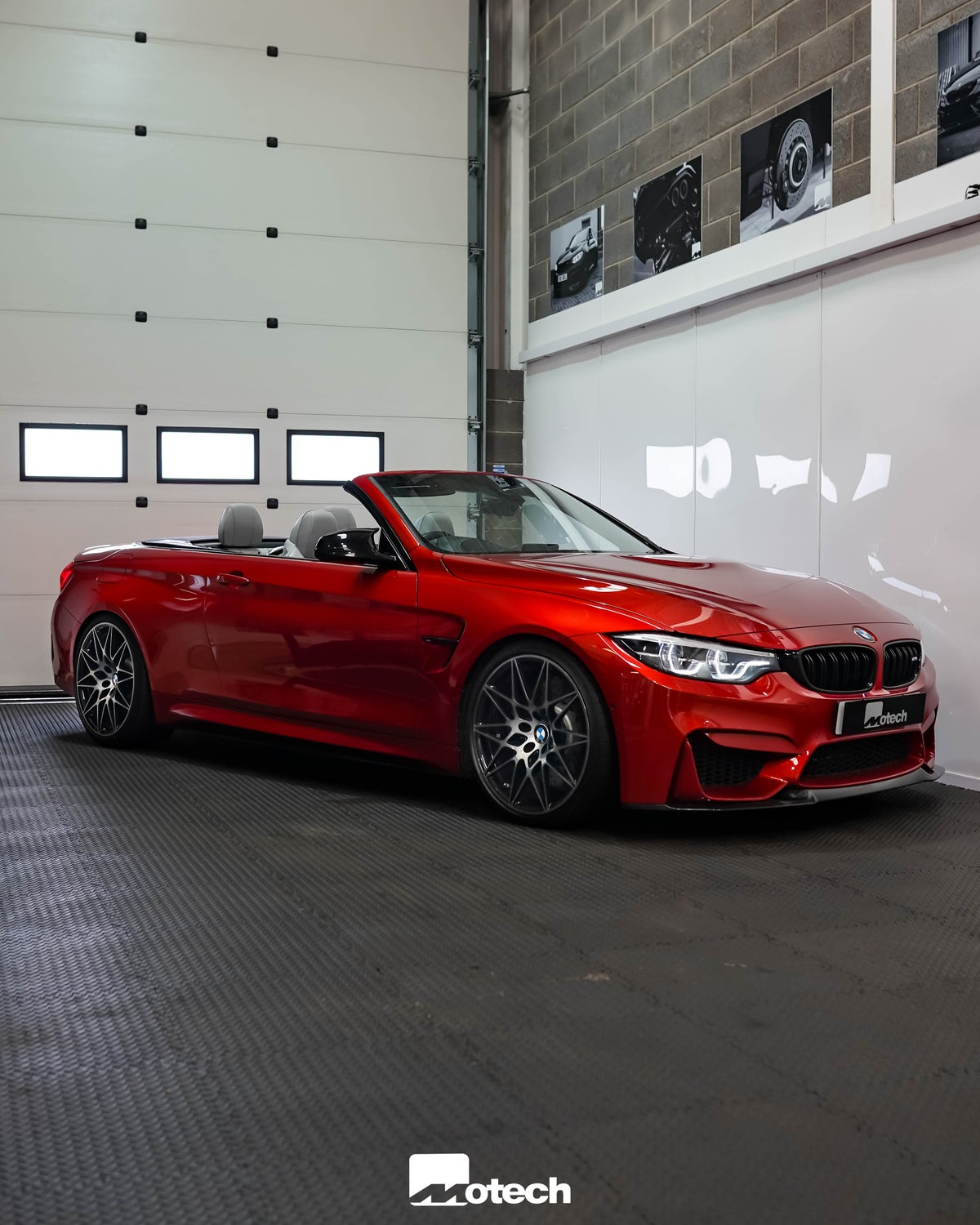 Image of BMW M4 Motech Stance Lowering Springs F82 F83