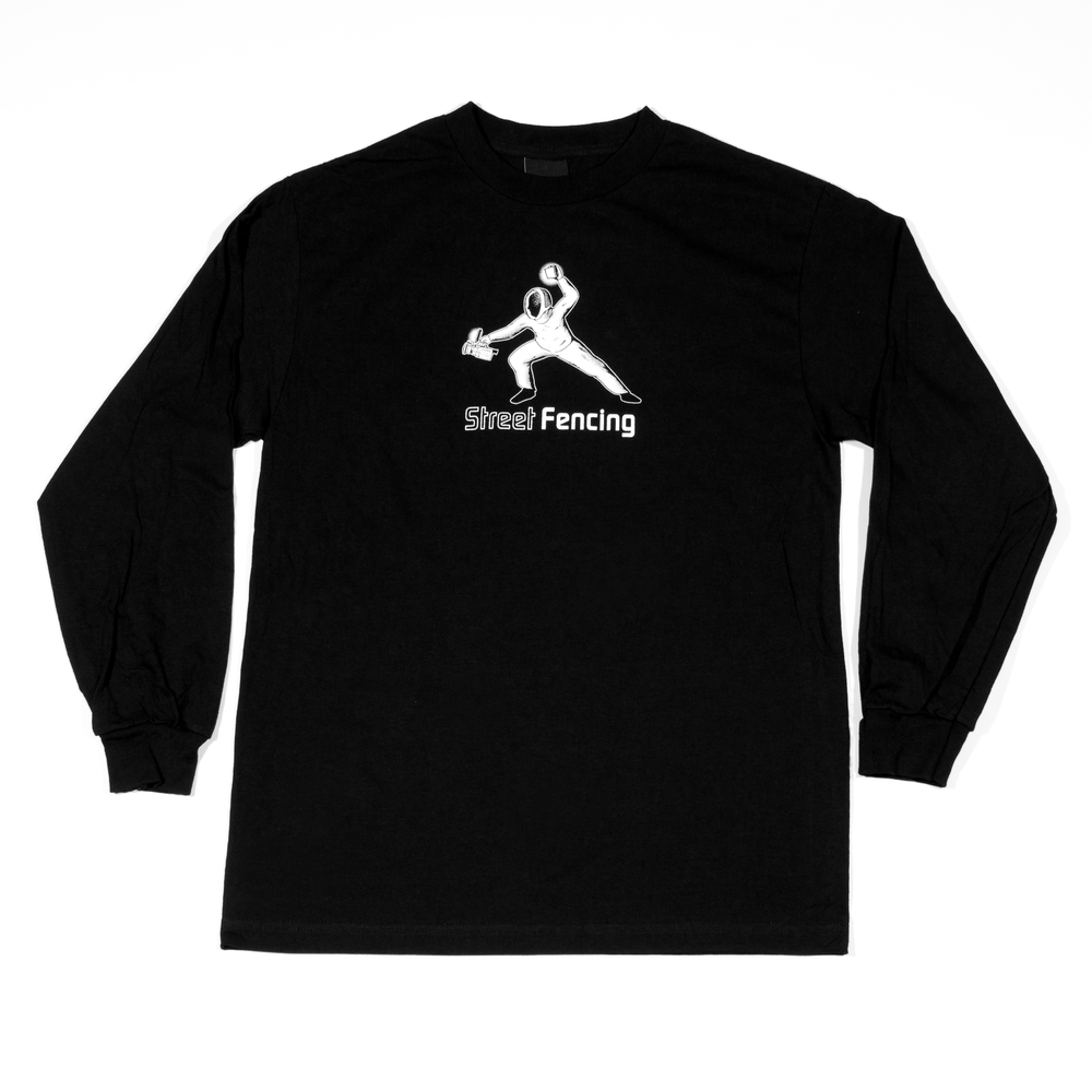 Image of 'Street Fencing' Long Sleeve