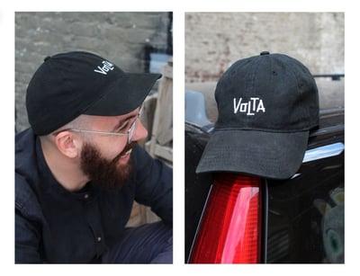 Image of CREW CAP - black - embroidered logo