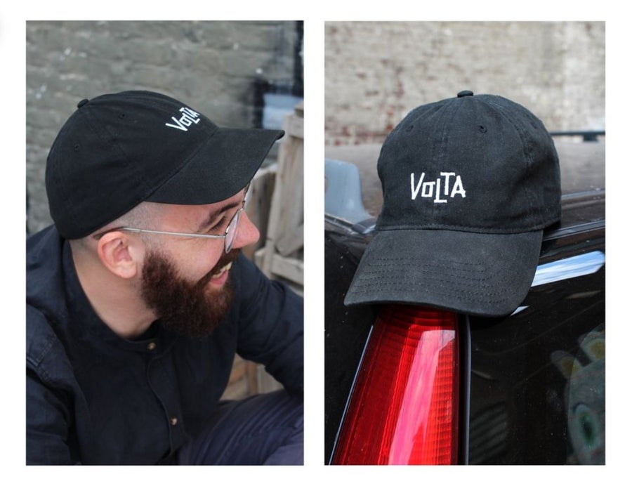 Image of CREW CAP - black - embroidered logo