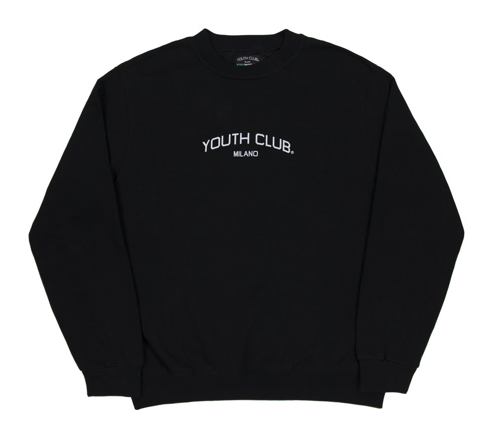 Image of Company Logo Crewneck / Black