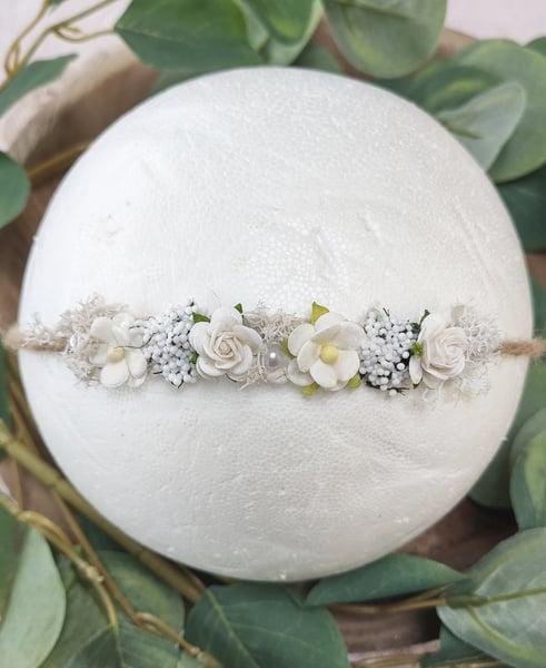 Image of Mini halo blanc